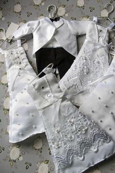Kleid/Anzug auf Bügelchen