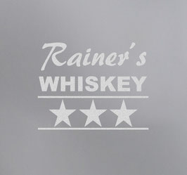 Whiskey 3 - A