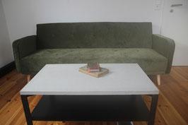 Couch Tisch ferrum cemento