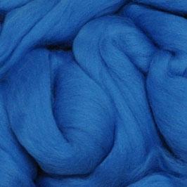 Lontwol Midden blauw
