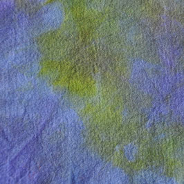 Sprookjesvilt Blauw/mosgroen/paars