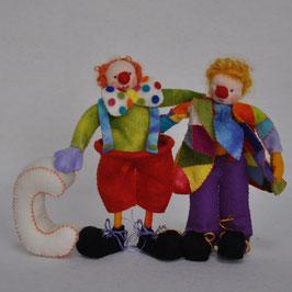 Alfie Alfabet leert de C van Clown