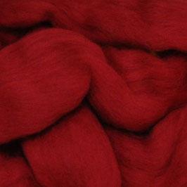 Lontwol Donker rood