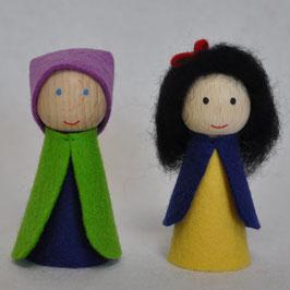 Vingerpopjes Dopey & Sneeuwwitje