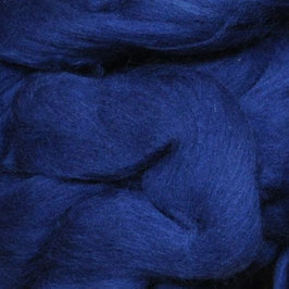 Lontwol Donker blauw