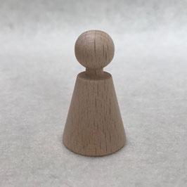 Kegelpopje kegelvorm met nekje