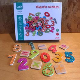 Magnetische cijfers en rekentekens