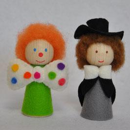 Vingerpopjes Clown & Directeur