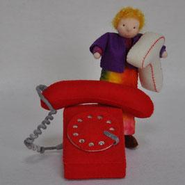 Alfie Alfabet leert de T van Telefoon