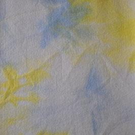Sprookjesvilt Licht blauw/geel/wit