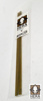 Rods of brass 2,5mm