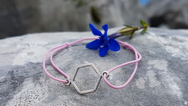 Armband Hexagon