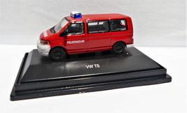 Volkswagen T5, H0, 1:87, Bus Feuerwehr, (45 260 2100)