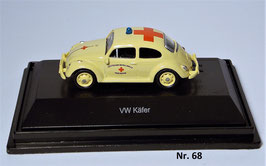 Schuco Käfer Dienstwagen Malteser 1:87