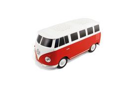 VW T1 BUS BLUETOOTH LAUTSPRECHER IN GESCHENKBOX - ROT/WEISS (BUBS01)