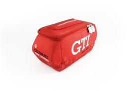 VW GTI 3D NEOPREN UNIVERSALTASCHE - SECHSECK/ROT (GTINE41)