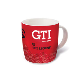 VW GTI KAFFEETASSE 370ml - THE LEGEND/ROT  (GTITA02)