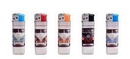 5 Stück Elektronik Feuerzeug VW BUS (2299)