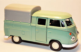 VW Bus Pick Up mit Aufsatz,WELLY, 1:34