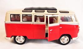 Volkswagen Classical Bus T1 , 1962, 1:24,mit Licht und Sound (25052)