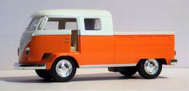 Volkswagen  Bus T1 Pick Up mit Doppelkabine,  1963,  1:34, (KT)