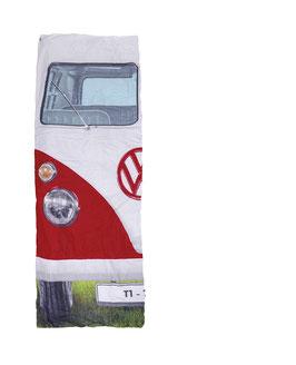 VW T1 BUS EINZELSCHLAFSACK - ROT Oder BLAU