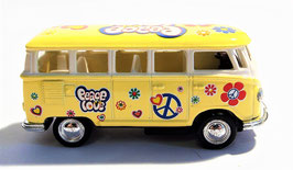 VW T1 Bus 1962, Flower Power, KINSMART