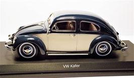 "VW Käfer dunkelblau/beige ""ovales Heckfenster"""