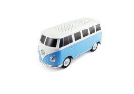 VW T1 BUS BLUETOOTH LAUTSPRECHER IN GESCHENKBOX - BLAU/WEISS (BUBS02)