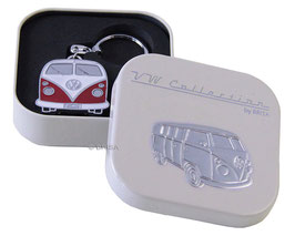 VW Bulli T1 Schlüsselanhänger in edler Geschenkdose mit Prägung (BUKH01-04)