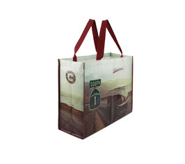 VW T1 BUS SHOPPER BAG - HIGHWAY 1  ( BUSB31)