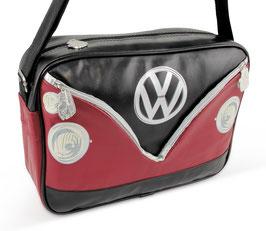 VW Schultertasche Bulli Front Motiv