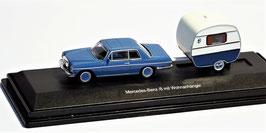 Mercedes-Benz /8 mit Wohnanhänger 1:87