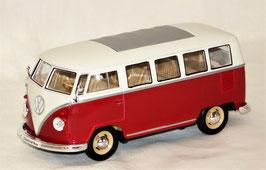 VW T1 Bus Samba, Welly 1:24