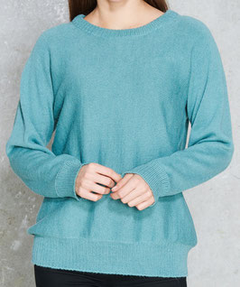 Pullover MAGALY in Türkis & Dunkelblau