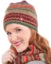 Mütze Luna mit Baumwoll-Vlies