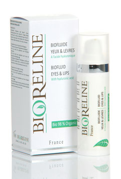 BioFluide Yeux/Lèvres (acide hyaluronique) 96 % Bio