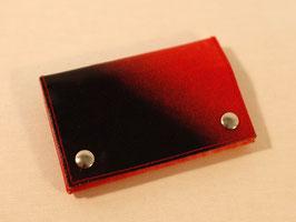 Krötenbeutel - schwarz/rot