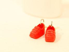 Ohrringe - rote Kinderschuhe