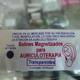 balines electromagnetizados  parche color carne, transparente y swarovski