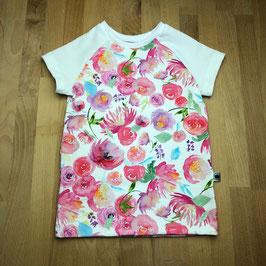 T-Shirt Blüten aquarell