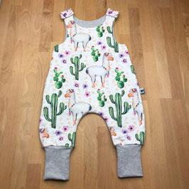 Strampler Lama & Kaktus