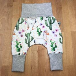 Mitwachshose Lama & Kaktus