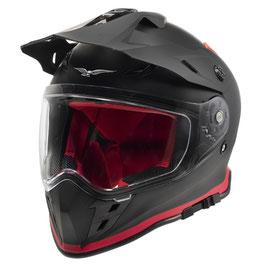 Moto Guzzi Adventure Touring Helm schwarz