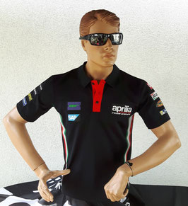 Aprilia Polo Shirt Racing Team 2017