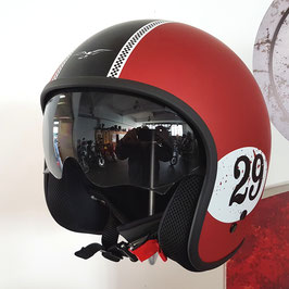 Moto Guzzi Jethelm Racing Red No.29