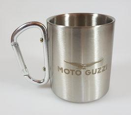 Moto Guzzi Edelstahl Tasse