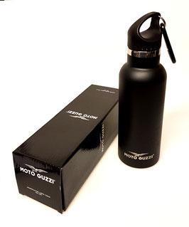 Moto Guzzi Alu Flasche schwarz