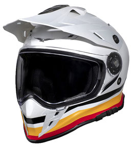 Moto Guzzi Adventure Touring Helm weiß