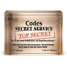 Codes - Secret Service (Gesellschaftsspiel)